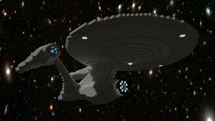 USS Enterprise-A (1:6) + Schematic Minecraft Project