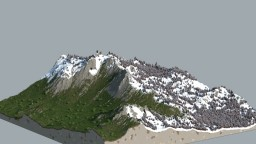 Hyper Realistic Terrain - The Mount of Vox Minecraft Map & Project