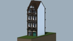 Half timbered house Minecraft Project