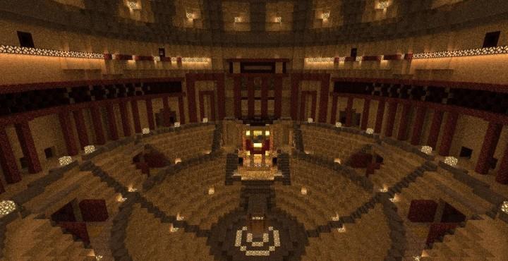 Palace Of Soviets Дворец советов Minecraft Project
