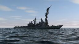 Ticonderoga-class cruiser USS CG-71 Vella Gulf Minecraft