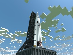 Space Launch System - Block 1 [1:1] [NASA] Minecraft Map & Project