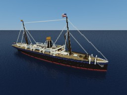 S.S. Gotha Minecraft Map & Project