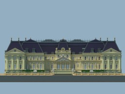 [Baroque] Chateau based on Vaux Le Vicomte Minecraft Map & Project