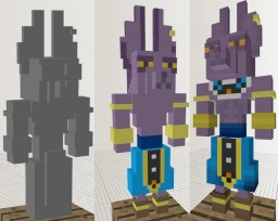 Model art - dbc - dbz Minecraft Blog Post