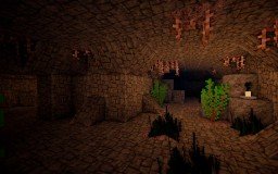 KATACOMB [MODDED SURVIVAL HORROR] [Custom Npc's, Carpenters Blocks and 25+ mods] Minecraft Map & Project