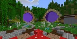 Island Spawn Floating/2 portal Minecraft Project