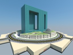 Dubai Pearl, Dubai Minecraft Map & Project