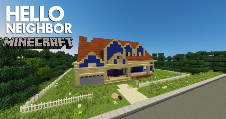 1 7 10] Hello Neighbor - Alpha 2 Minecraft Project
