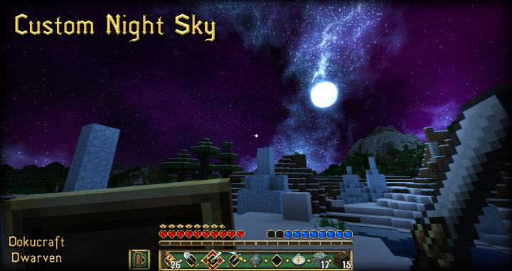 Custom Night Sky
