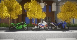 motor cycle Minecraft