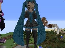 Hatsune Miku Minecraft Map & Project