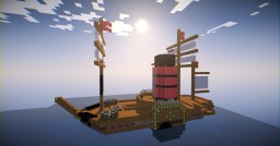 RMS Brittania Minecraft Map & Project