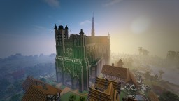 Amiens Cathedral (13th century, France) Minecraft