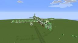 Flying Airliner!! Slimeblock!! -Vanilla MInecraft-