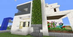 The Only Okay-Looking House I've Made | Modern House [1.11+] Minecraft Map & Project