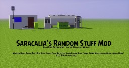 [1.10.2][FORGE]Saracalia's Random Stuff Mod! - Extra Decorations for your Minecraft World! Minecraft Mod