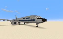 Airbus A300B2 Air France Minecraft Project