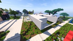 contemporary house Minecraft Project