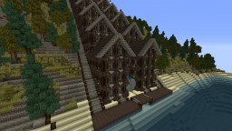 Watermill of Barbegal Minecraft