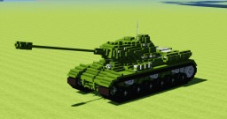 IS-2 Tank Minecraft Project