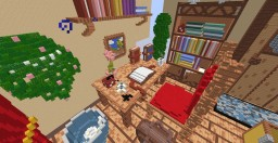 3D Room Made by: Mythical_Rey Minecraft Project