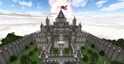 Angelville Castle Midevil fantasy Minecraft Project