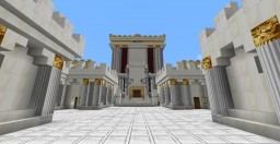 Detail on the Beis Hamikdash. Minecraft Map & Project