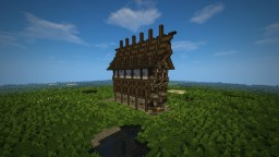 Medieval House | High, Large, Narrow | by Veelten Minecraft Map & Project