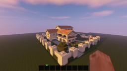 Italian Mansion Minecraft Map & Project
