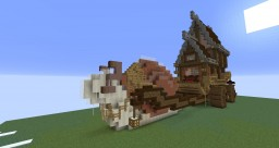 Cart House Minecraft Map & Project