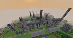 Steel Plant Minecraft Project