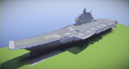 Admiral Kuznetsov class Aircraft Carrier V. 5.0 Minecraft Map & Project