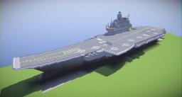 Admiral Kuznetsov class Aircraft Carrier V. 5.0 Minecraft Project