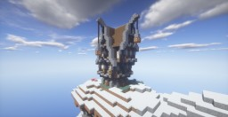 Medieval (Mountain) House Minecraft Map & Project