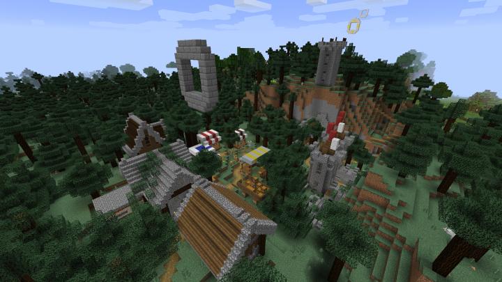 First village.