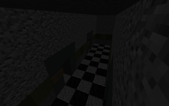 Restrooms Hallway