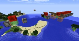 Flying machine updating glitch Minecraft Map & Project