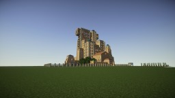 The Minecraft Tower Hotel Minecraft Project