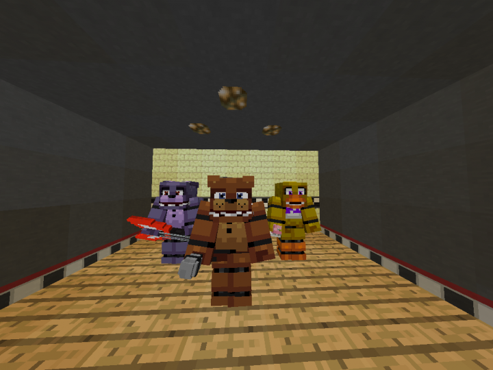 FNAF 1 Map Minecraft Project
