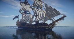 Le Cracotte-renaissance ship Minecraft Project