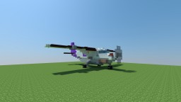 Cessna 208 Caravan [2.5:1 scale] [Now with Schematic] Minecraft Map & Project