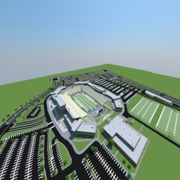 Eagle Stadium Minecraft Map & Project