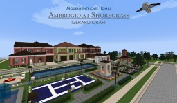 Modern Intricate Homes - Ambrogio at Shoregrass Minecraft Map & Project