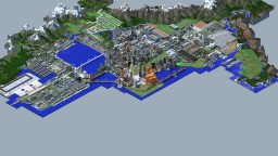 Port Royal: A Traincraft-Compatible City Project. Minecraft