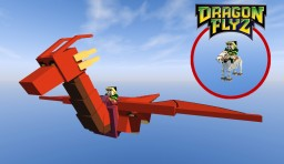 Dragon Flyz - Dragons Update #1 (OptiFine 1.10.2 C3 or higher)