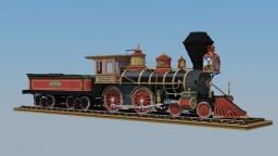 Central Pacific #173 4-4-0 American Steam Locomotive