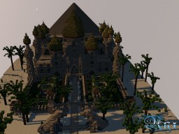 Desert Palast Minecraft Map & Project