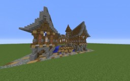 Medieval Mansion (Small) Minecraft Map & Project