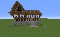 Ghast House Minecraft Map & Project